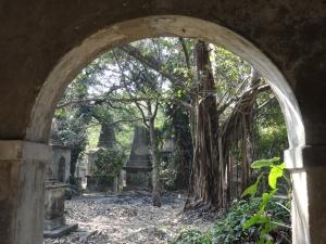 The eerie Park Street Cemetery