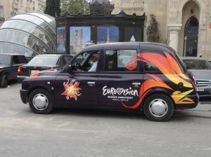 Eurovision taxi, Baku