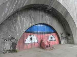 Pig artwork, Tbilisi