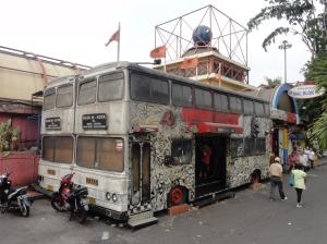 London bus gets lost in Jakarta
