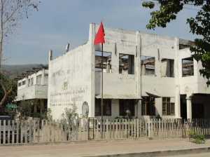 Remnant of troubled times in Dili