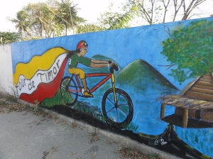 They love their cycling in East Timor