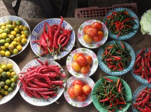 Offerings from Bandar's local market
