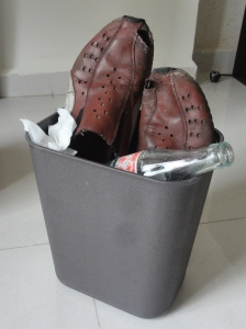 R.I.P. - the death of my Africa shoes :-(