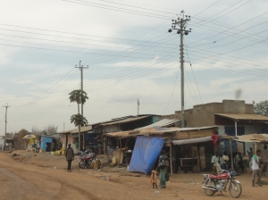 A typical street in Juba