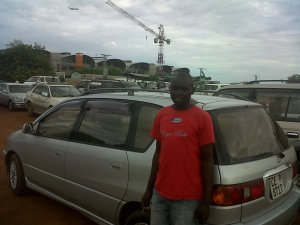 Victor and my car