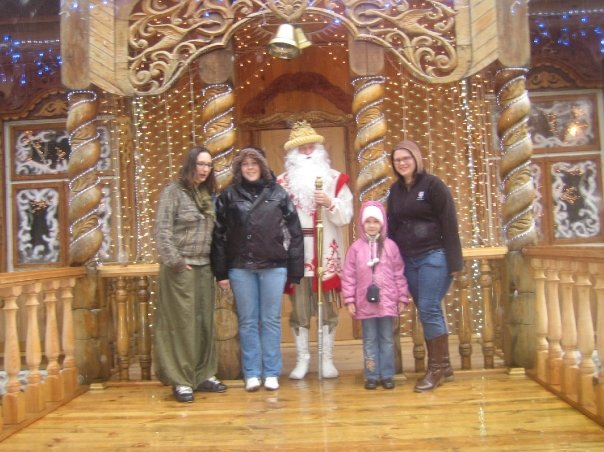 Meeting Ded Moroz in Belarus