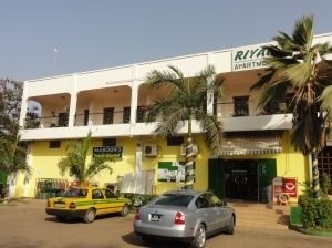 Maroun's supermarket in Banjul, Gambia