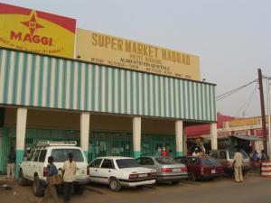 Supermarket Haddad in Niamey, Niger
