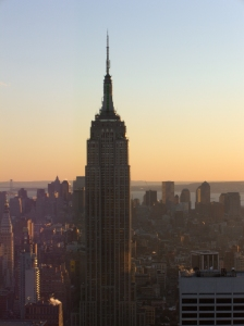 The most famous of them all? New York's Empire State Building