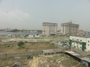 Lagos view from my hotel room
