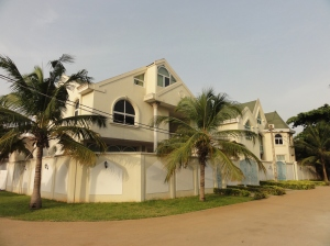 Housing in Cotonou's expat area of Haie Vive