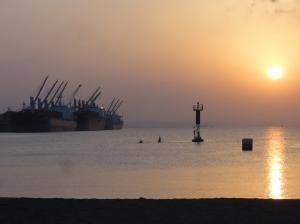 Down by Djibouti's port