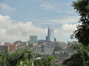 Kigali's central business district