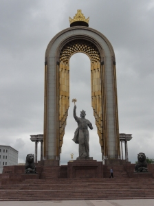 Somoni Monument