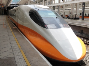 Based on Japan's famous 'bullet' train