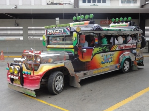 Unique to the Philippines - the jeepney
