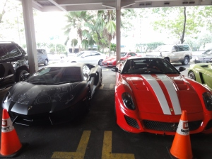 Supercars in Jakarta