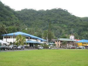 ANZ near the harbour in AmericanSamoa