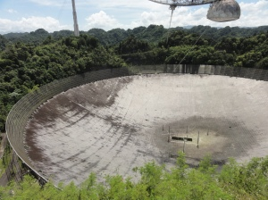 Arecibo Observatory - the world's largest satellite dish
