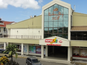 The Rodney Bay Mall in St. Lucia