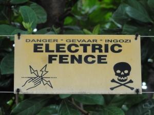 Danger...high voltage!