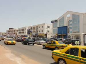 Gambian street scene