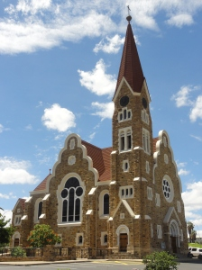 Windhoek's famous Christuskirche