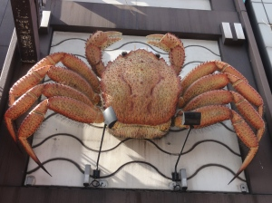 Hairy crabs are a Sapporo speciality