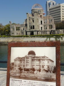 Hiroshima before and after the bomb