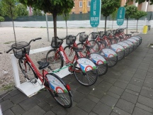 Tirana's very own public bicycle scheme