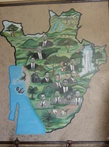 Heart shaped Burundi