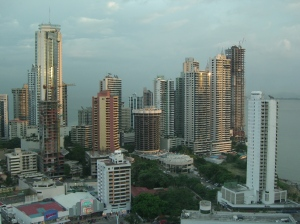 Vertical living in Panama City