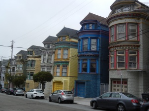 Colourful San Francisco architecture