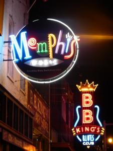 Memphis in neon