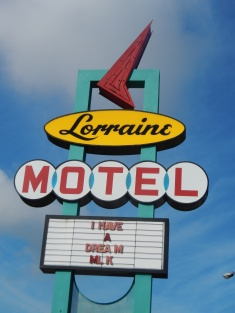 Lorraine Motel in Memphis where Martin Luther King was killed
