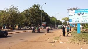 Bamako's Avenue Al Quds