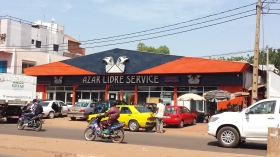 One of the best supermarkets in Bamako