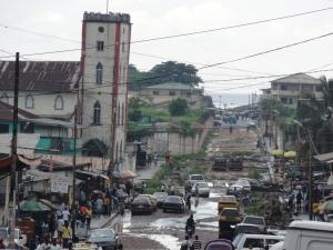 Liberia's capital Monrovia