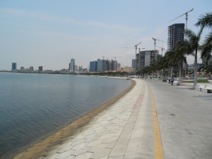 Luanda's Marginal waterfront