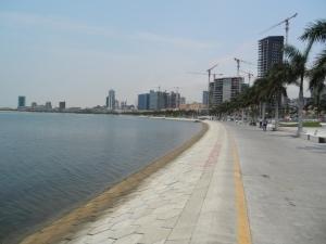 Luanda's Marginal waterfront