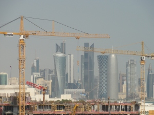 Doha - growing faster than bamboo!