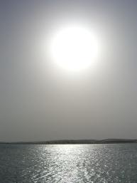 Qatar's blazing sun