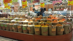 Spices for sale in Carrefour