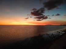 Sunset in Kiribati