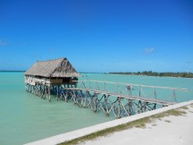Turquoise waters, Kiribati