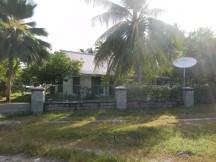 Upmarket house in Bairiki, Kiribati