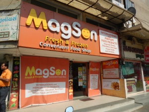 Magson - great for imported foods in Ahmedabad