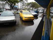 Equatorial flooding in Guyana
