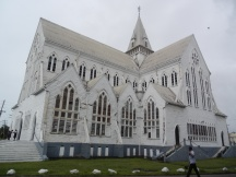 St George's Cathedral - the tallest wooden church in the world!